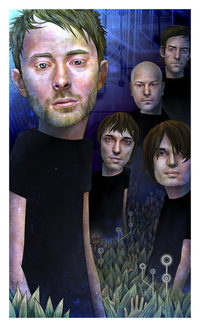 Portrait of Radiohead, Julia Yellow