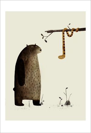 I Want My Hat Back - page 11 (Snake), Jon Klassen