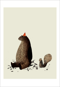 I Want My Hat Back - Page 29 (Squirrel), Jon Klassen