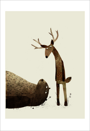 I Want My Hat Back - Page 17 (Deer), Jon Klassen