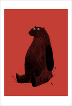 I Want My Hat Back - Page 19 (Red Bear), Jon Klassen