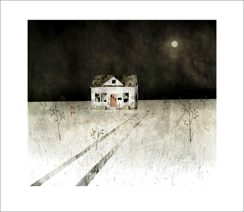 House Held Up By Trees - Page 18 (Empty House), Jon Klassen