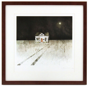House Held Up By Trees - Page 18 (Empty House) Framed/Signed, Jonathan Klassen