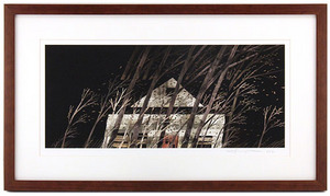 House Held Up By Trees - Page 25-26 (Winds) Framed/Signed, Jonathan Klassen