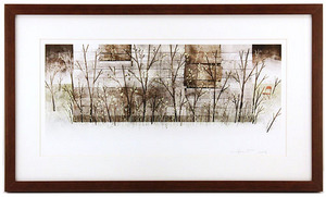 House Held Up By Trees - Page 21-22 (Sprouts and Saplings) Framed/Signed, Jonathan Klassen
