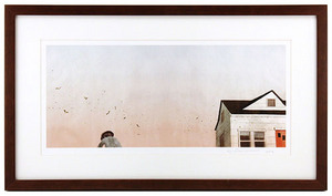 House Held Up By Trees - Page 11-12 (Winged Seeds) Framed/Signed , Jonathan Klassen