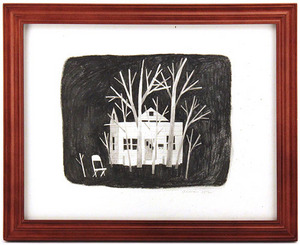 House Surrounded by Trees, Jonathan Klassen