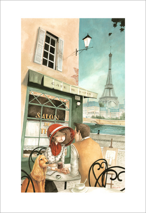 Cafe de Paris, Daniela Volpari