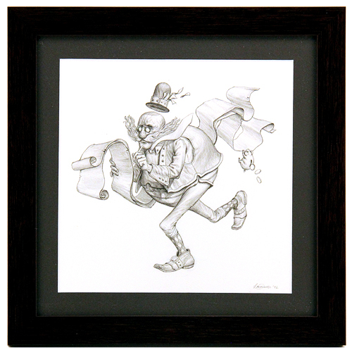 Mr. Taxman (Drawing), Brun Croes