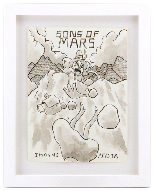 Sons of Mars Promo Art, Jesse Moynihan