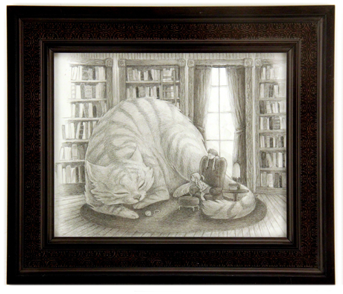 The Cat in the Library, Carrie Liao