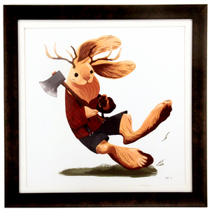 The LumberJackalope, Natalie Hall