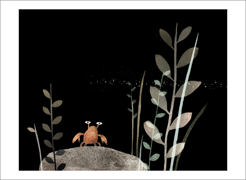 This Is Not My Hat - Page 08 (Crab), Jon Klassen