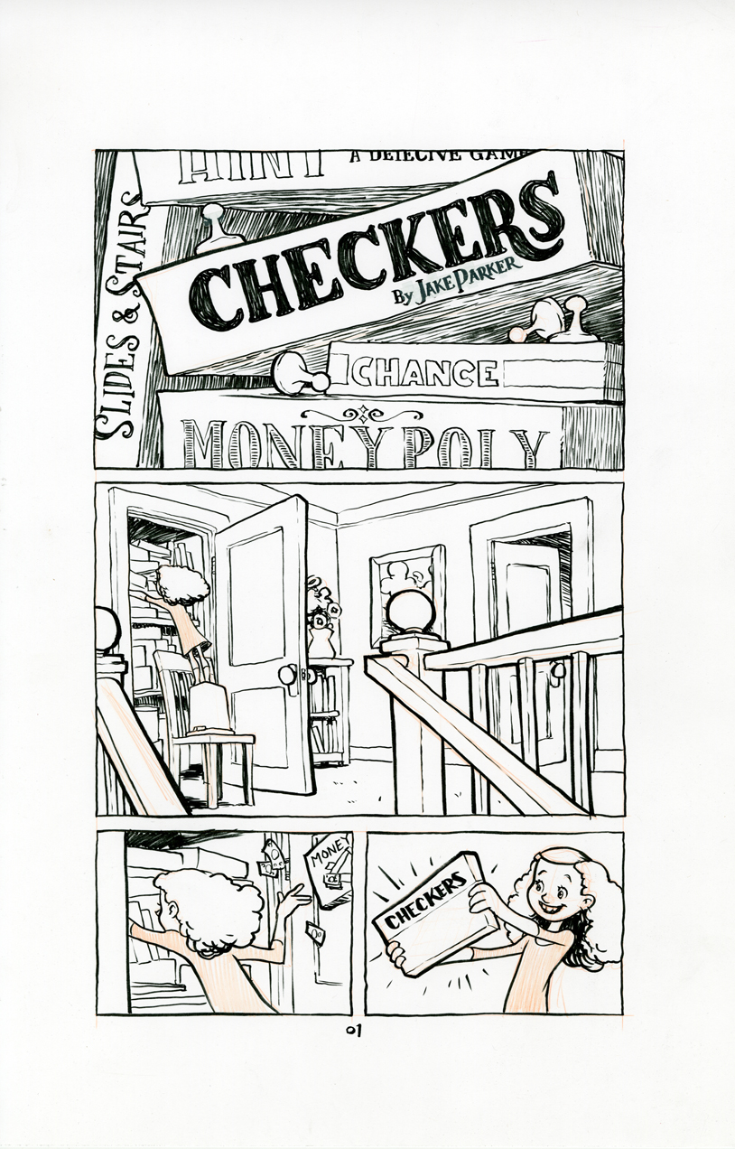 Checkers Page 01, Jake Parker