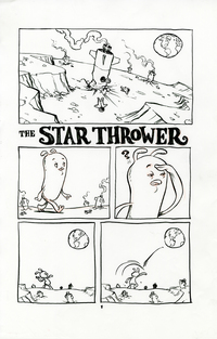 The Star Thrower page 01, Jake Parker