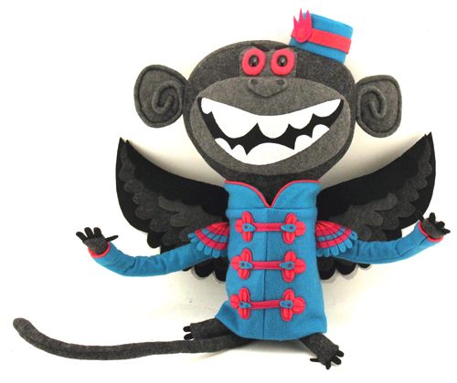 Flying Monkey 2, Felt Mistress