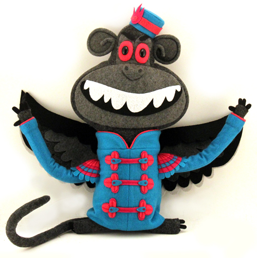 Flying Monkey 1, Felt Mistress