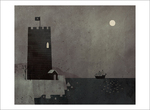 Extra Yarn page 14a (Castle at Night), Jon Klassen