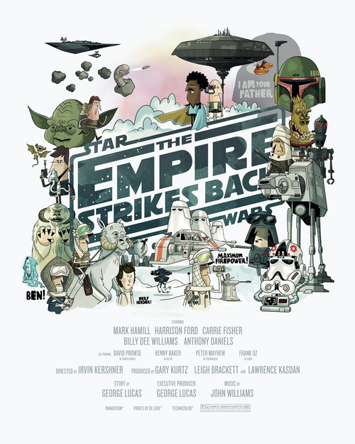 The Empire Strikes Back, Christopher Lee
