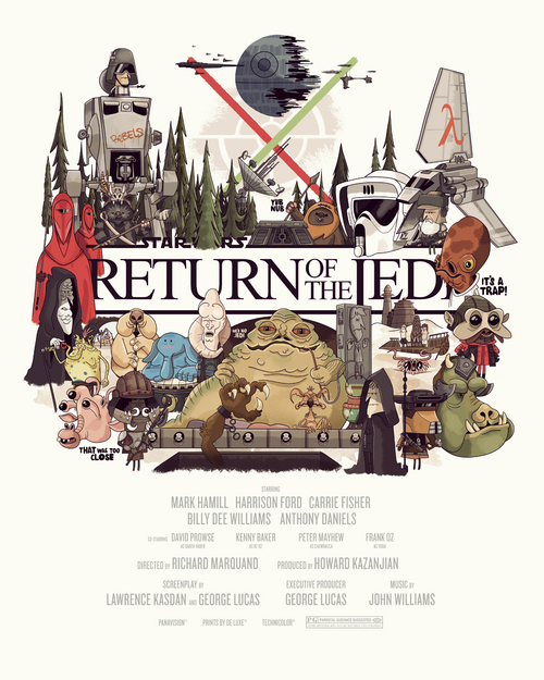 Return of the Jedi, Christopher Lee