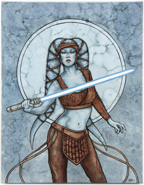 Aayla Secura, Kelly McKernan