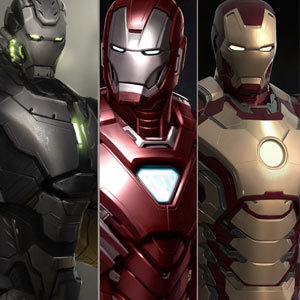 Iron Man 3 Artists Panel / Book Signing