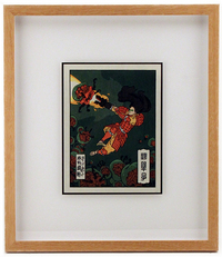 (framed woodblock print) Infestation , Jed Henry