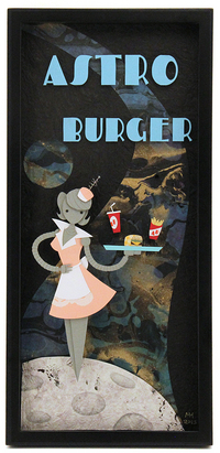 Astro Burger, Megan Woods