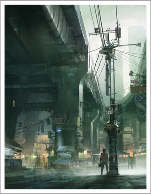 Under the Railway, Theo Prins