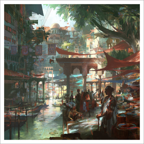 Water Way, Theo Prins