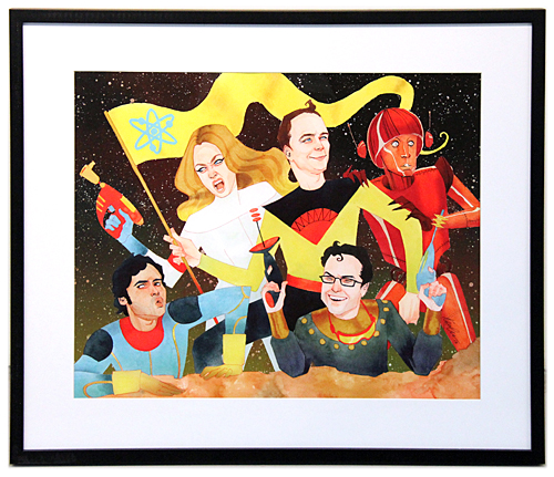 The Big Bang Theory in Space!, Kevin Wada