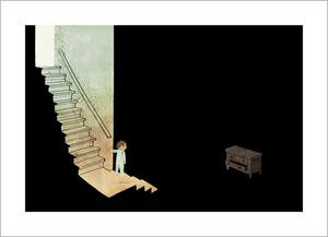 The Dark - Page 16 (Bottom Drawer), Jon Klassen