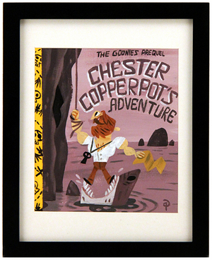 Chester Copperpot´s Adventure, Pakoto