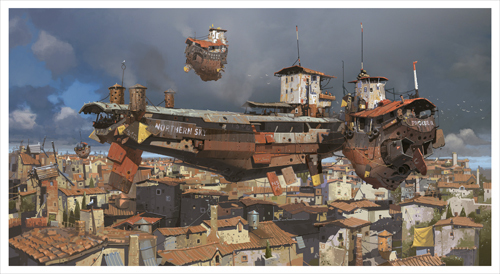 Alongside the Bunker Barge, Ian McQue
