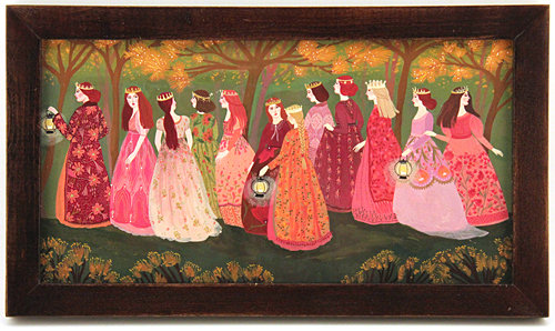 The 12 Dancing Princesses in the Golden Grove, Becca Stadtlander