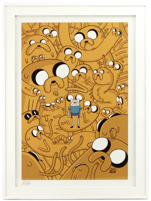 Cover for Adventure Time issue #8, Chris Houghton