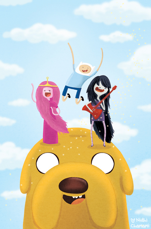 Adventure Time #15 print, Nidhi Chanani