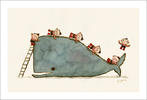 Hug Machine - Whale Hug, scott c