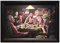 Naughty Dogs Playing Poker, Pandamusk