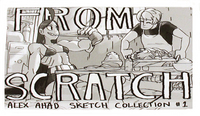 From Scratch Alex Ahad Sketch Collection #1, Alex Ahad o_8
