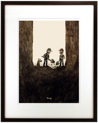 Sam & Dave Dig A Hole - Page 23 (Last Animal Cookie), Jon Klassen