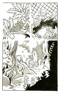 Capture Creatures page 15, Kelly Bastow