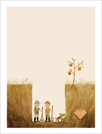 Sam & Dave Dig a Hole - Page 5 - Need to Keep Digging, Jon Klassen