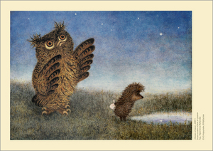 Owl and Hedgehog, Roman  Tabakh