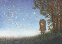 Hedgehog and Butterflies, Roman  Tabakh