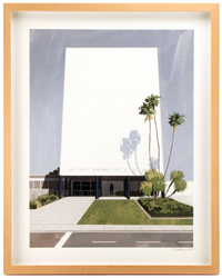 Parker Center (framed), Chris Turnham