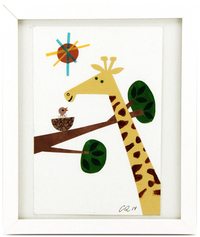 Birthday Giraffe, Christian  Robinson