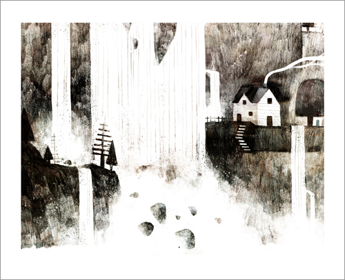 House by the Falls, Jon Klassen