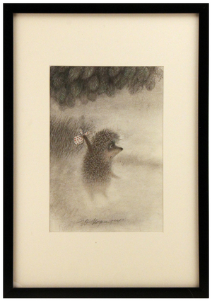 Hedgehog entering Fog, Roman  Tabakh