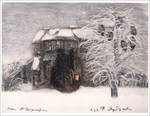 Tale of Tales - Winter, Old House (unframed), Roman  Tabakh